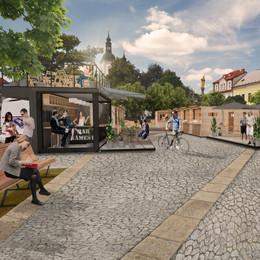 Návrh přeměny náměstí v Říčanech