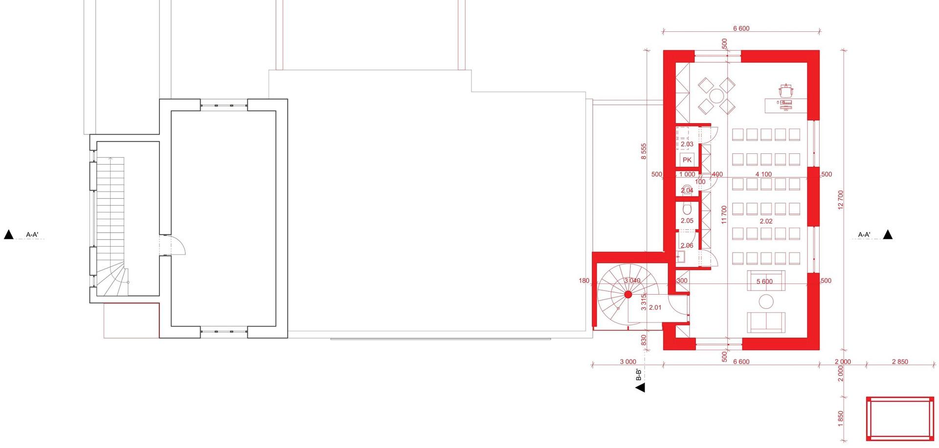 AUS - Přístavba objektu hasičské stanice