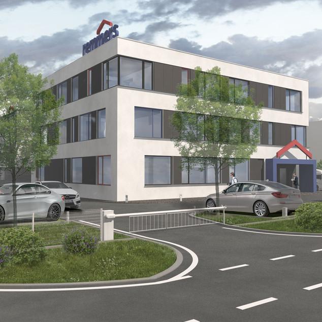 Administrativní a skladovací centrum v Nehvizdech