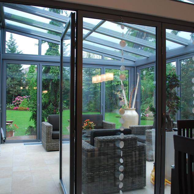 Interier RD a zimní zahrada