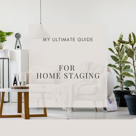 My Guide to Home Staging