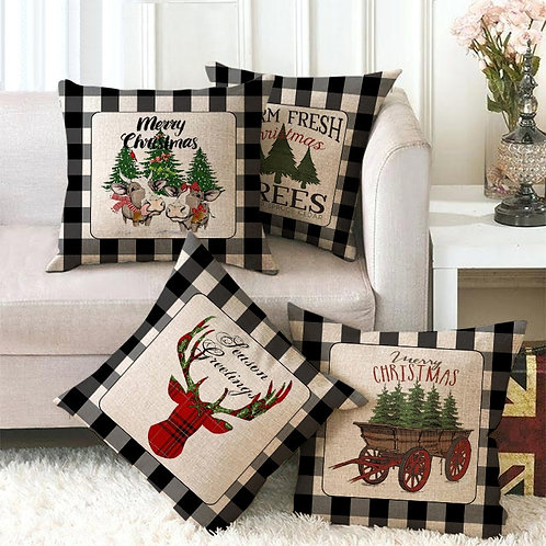 Creative Festive Cushion Cover