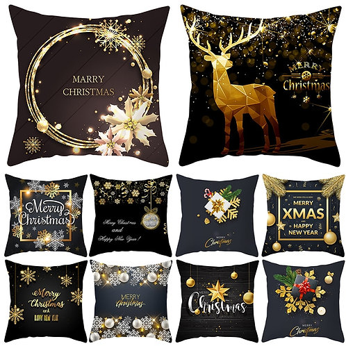 Christmas Themed Cushion Cover