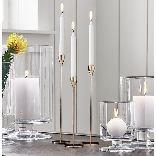 Contemporary Metal Candle Holders