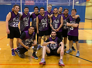 Custom FIJI fraternity basketball jerseys