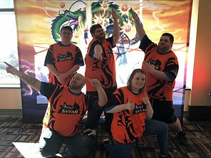 Custom Dragonball eSports jersey