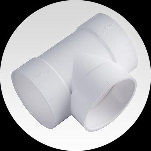 Тройник T 90° ПВХ Ø 50,8 мм.