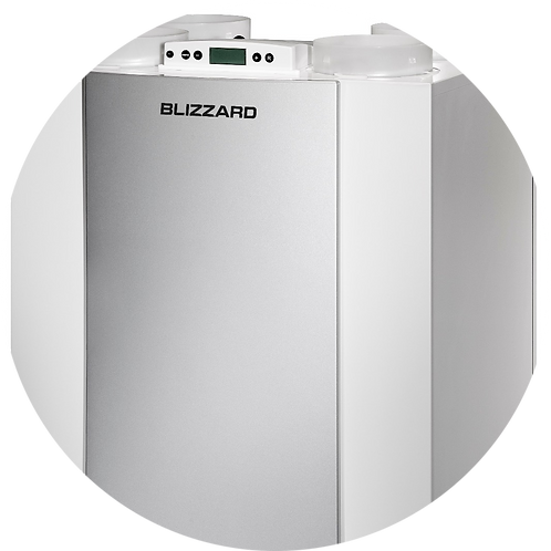 Вентустановка RE 300 2/2 R производительностью 300 м3/ч.