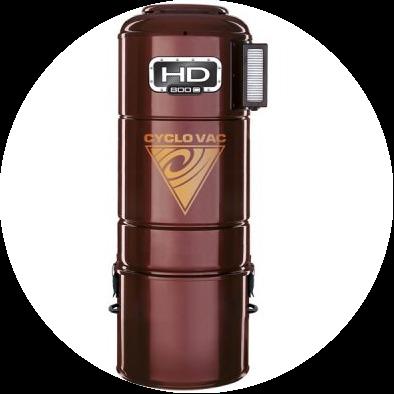 Силовой агрегат Cyclovac HD 800C (до 450м²)