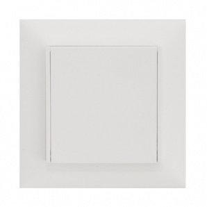 Пневморозетка R-klasse IntelSys Feller пластик белая
