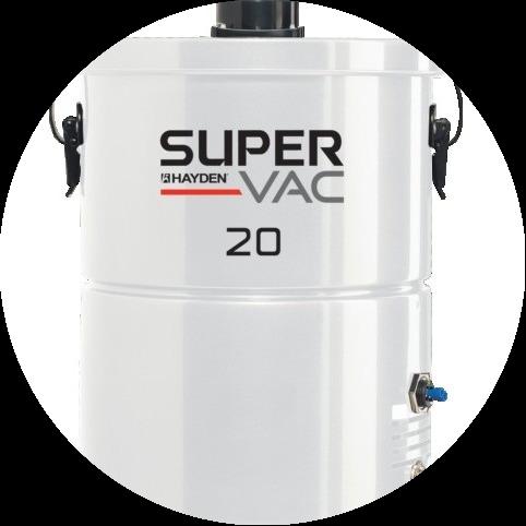 Силовой агрегат Cyclovac  SuperVac 20 (до 100м²)