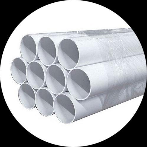 Труба ПВХ Cyclovac  (диаметр 50,8 мм) белая (2,44 м - 1 шт.) Цена за 1 шт.