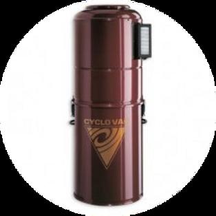 Силовой агрегат Cyclovac H 715 (до 750 м2)