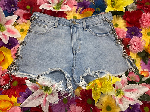 Chained 2 U Shorts