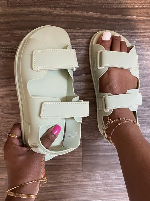 True Sandals - Sage