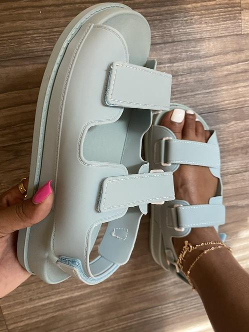 True Sandals - Light Blue