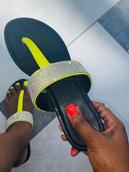 ACS Thong Sandals - NEON