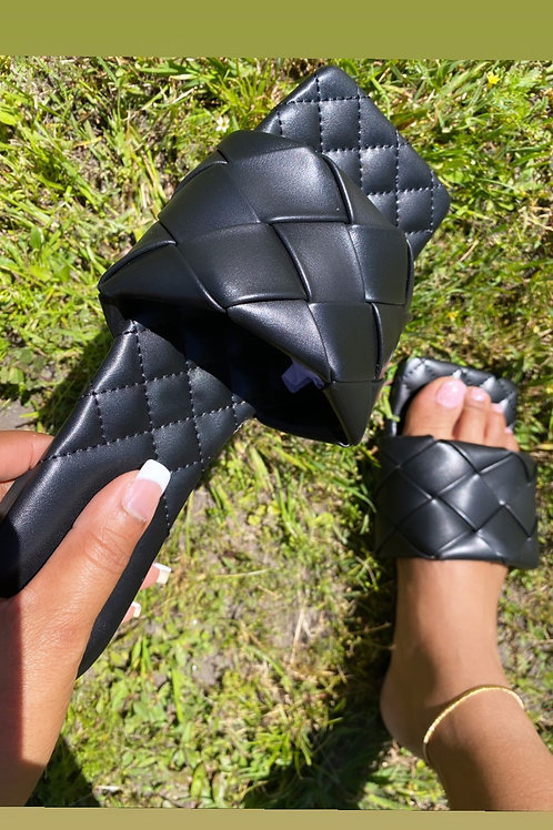 Sasha Sandals- Black