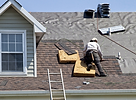 Damaged roof | Roofing services Texas