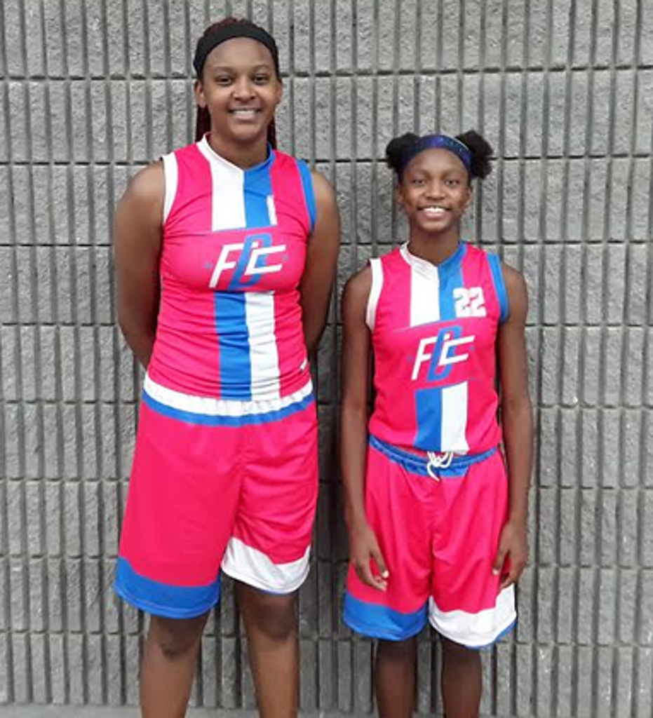 Essence Cody and Jaloni Cambridge (#22, MVP) of FBC The Family 2023 (PC: Bob Corwin)