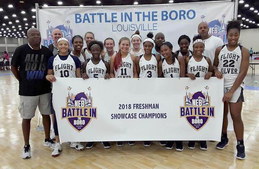 TN Flight Silver, Battle in the Boro 2018 Freshman Showcase Champions (PC: Bob Corwin)