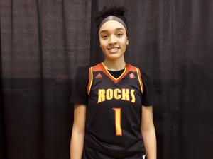 Bria Beal of Rock Island High School (PC: Bob Corwin)