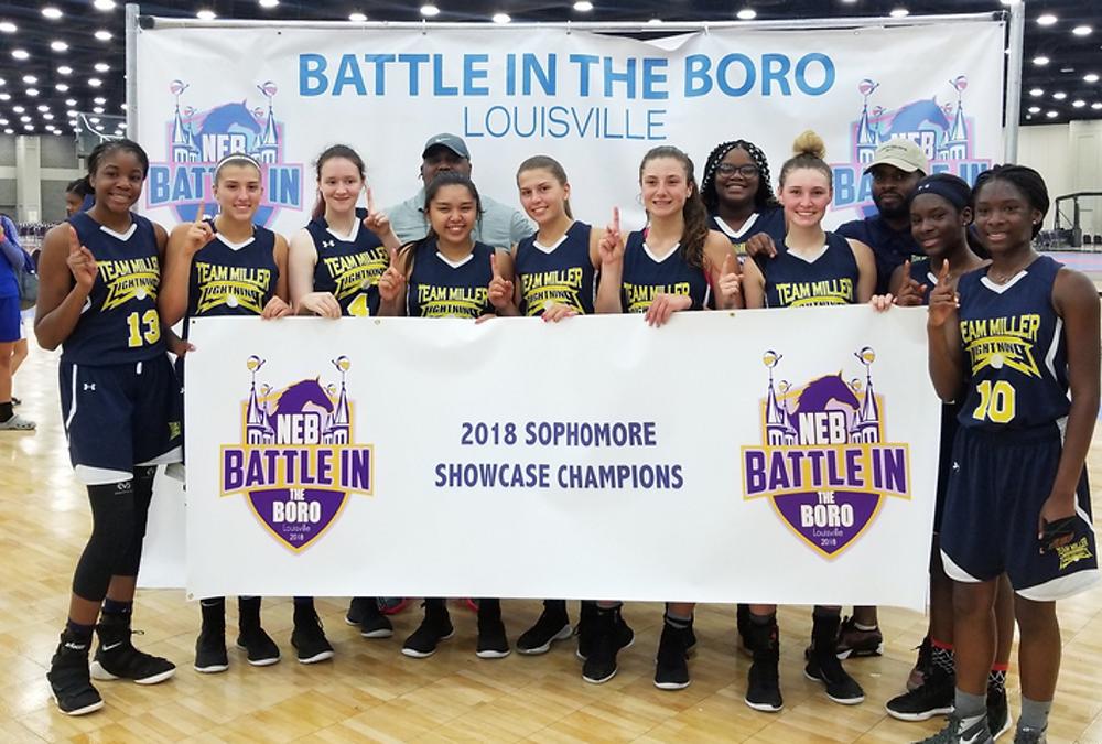 Team Miller 2020 - Kevin, Battle in the Boro 2018 Sophomore Showcase Champions (PC: Bob Corwin)