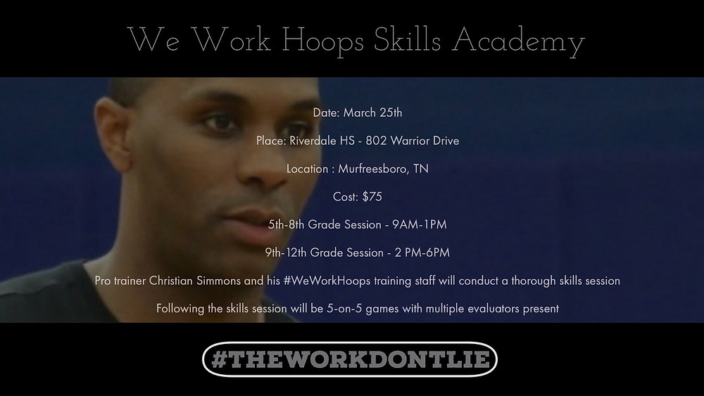 We Work Hoops Skills Academy