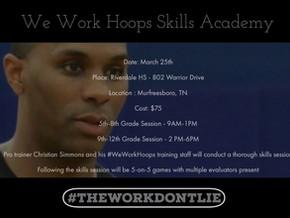 We Work Hoops Skills Academy