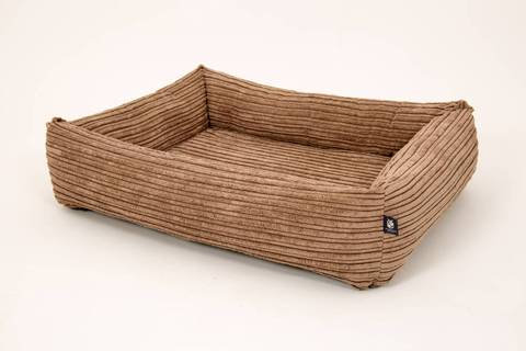 Memory Foam Square Chunky Dog Bed - Cord