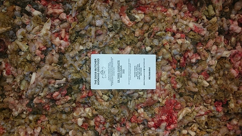 The Dogs Butcher - 1KG Ox tripe with duck 80-10-10