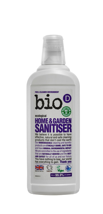 Bio-D Home & Garden Sanitiser 750ml