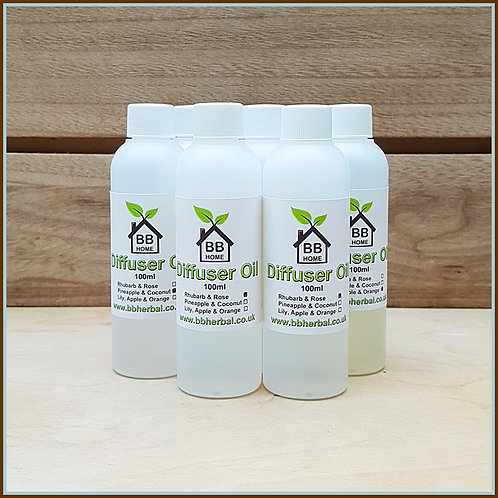 BB Home - Natural Diffuser Oil - 100ml Refill
