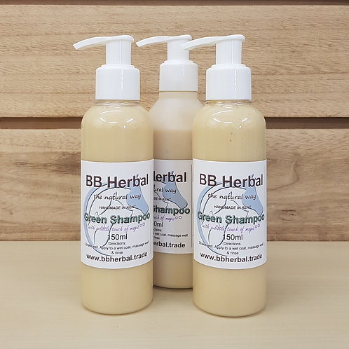 Green Shampoo 150ml & 250ml