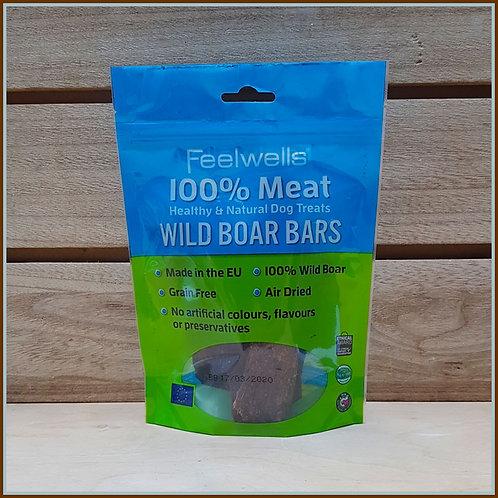 Feelwells - 100% Meat Wild Boar Bars
