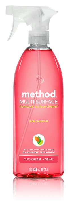 Method Multi Surface Spray - Pink Grapefruit  828ml