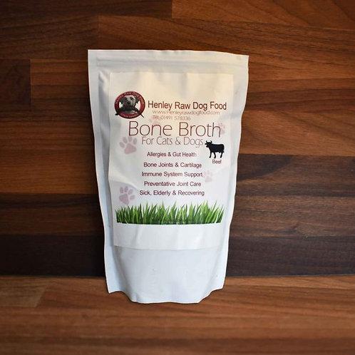 Henley Raw Dog Food - Beef Bone Broth - 500ml