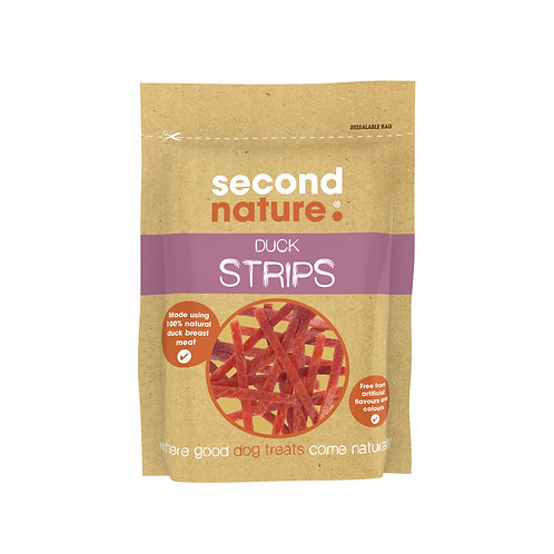 Second Nature Duck Strips for Dogs