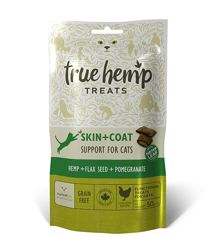 True Leaf Pet-True Hemp Cat Skin & Coat Treats
