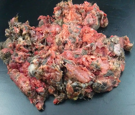 The Dogs Butcher - 1KG Wild rabbit mince in fur