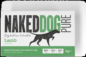 Naked Dog - Pure - Lamb - 80-10-10