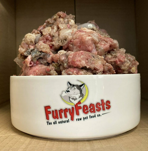 FurryFeasts - Complete Chicken and Tripe 80/10/10 - 500g
