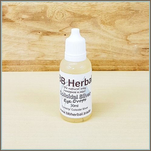 Colloidal Silver Eye Drops - 30ml - 99.9% Purest Silver