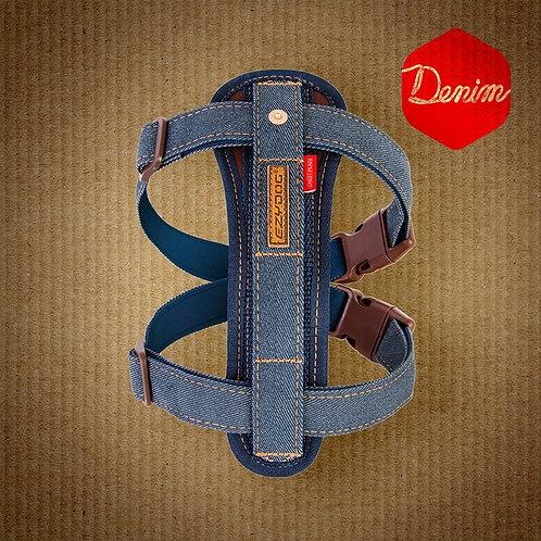 EzyDog Designer Denim Chest Plate Harness