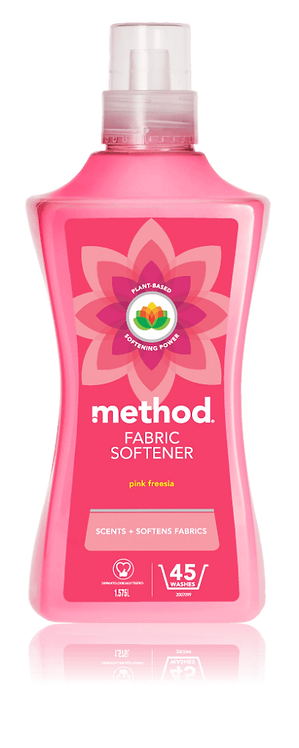 Method Fabric Softener - Pink Freesia - 1.58L (45 washes)