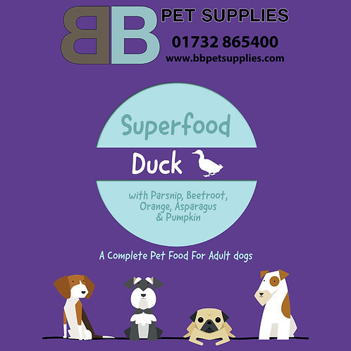 Superfood for Dogs - Duck - 2Kg