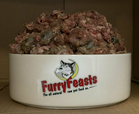 FurryFeasts - Complete Duck and Tripe 80/10/10 - 1Kg