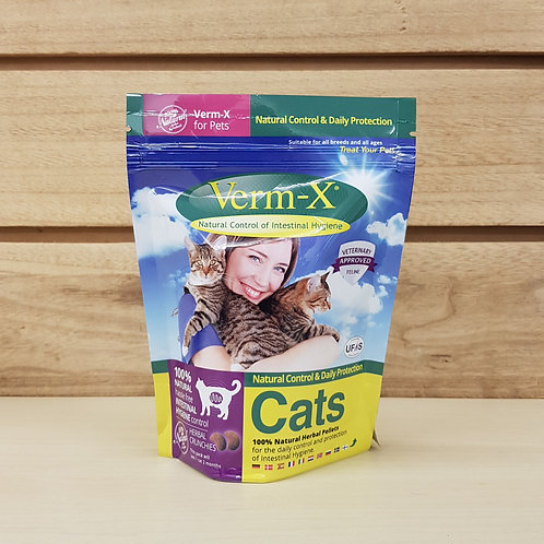 Verm-X Treats for Cats - 120g