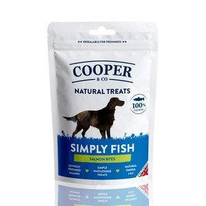Cooper & Co 100% Salmon Bites Dog Treats