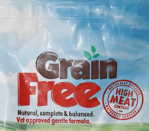 Grain Free for Cats - Natural, complete and balanced.